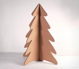 Arbre de Noël en carton
