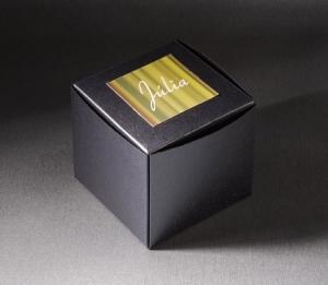 Boîte automontable pour cadeaux d'entreprise