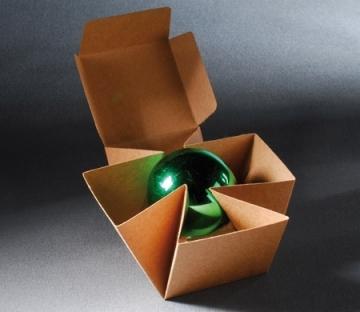 Boîte cadeau automontable pour Noël