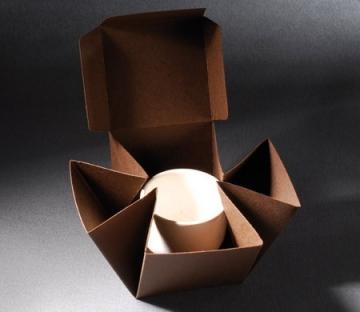 Boîte automontable pour les boutiques