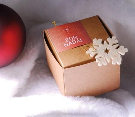 Petite boîte automontable pour Noël