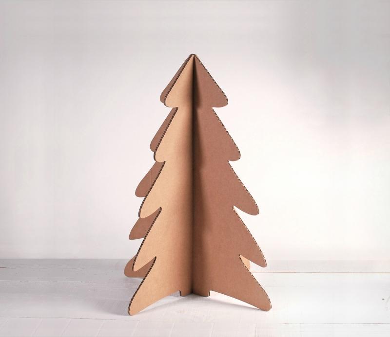 arbre de no l en carton selfpackaging. Black Bedroom Furniture Sets. Home Design Ideas