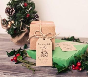 Emballage original de Noël