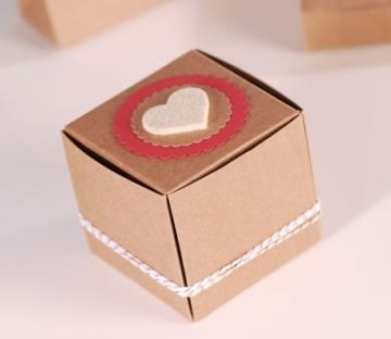 Boîte cadeau automontable