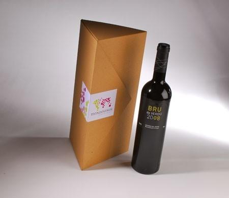 Boîte originale pour des bouteilles