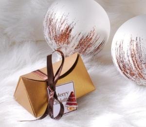 Boîte de Noël Élégante
