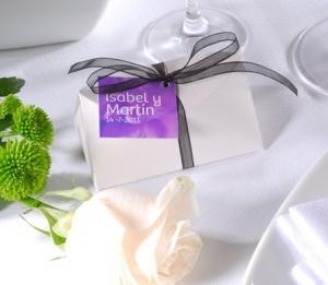 Boîte originale pour souvenirs de mariage