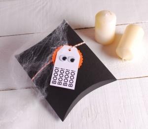 Petite Boîte d'Halloween Décorée