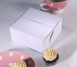 Boîte à Cupcakes avec Logo Imprimé