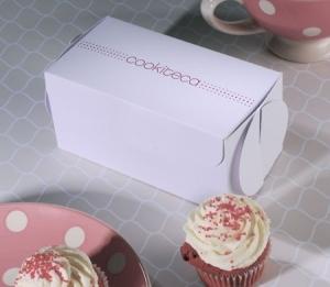 Boîte à cupcakes imprimée