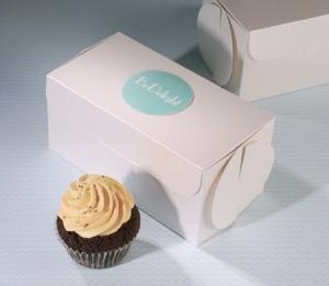 Petite boîte à cupcakes pour des magasins