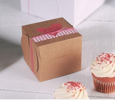 Boîte pour un Cupcake Décorée