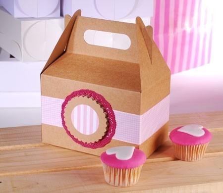 Boîte Pique-Nique pour Cupcakes