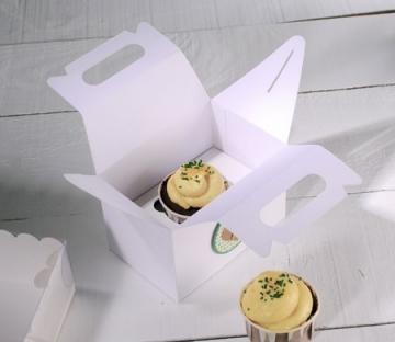 Boîte de pique-nique pour un cupcake