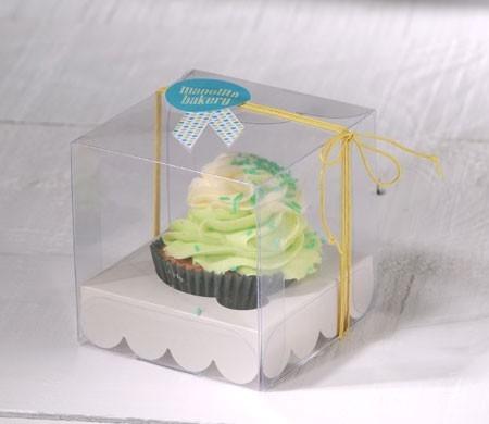 bo te cupcakes transparente. Black Bedroom Furniture Sets. Home Design Ideas