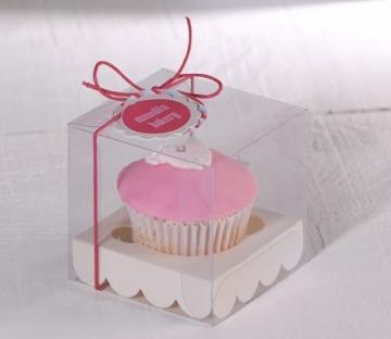 Boîte pour un Cupcake pour Baptêmes