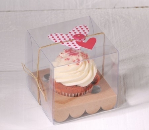 Boîte de cupcake pour un mariage