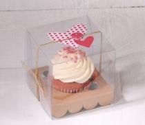 Boîte carton cupcake individuelle