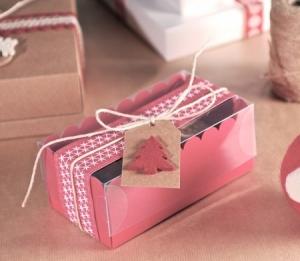 Petite boîte de Noël pour deux cupcakes