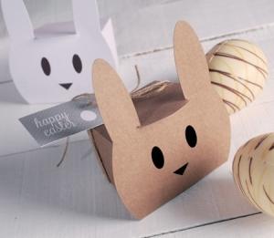 Petite boîte pour des oeufs de Pâques