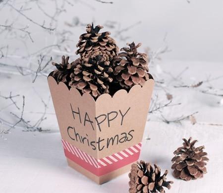 Boîte de Noël à Décorer