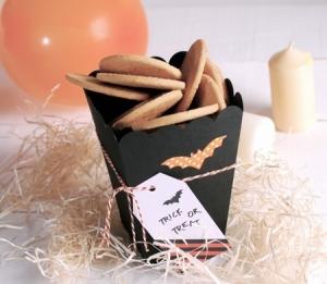 Boîte à Cadeaux et Bonbons d'Halloween