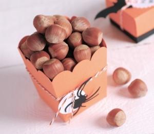 Boîte de pop-corn pour Halloween
