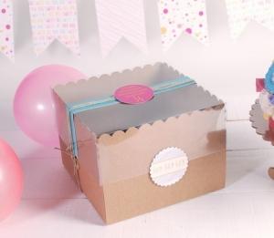 Boîte à tartes décorées