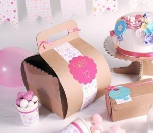 Originalel boîte à tartes et gâteaux