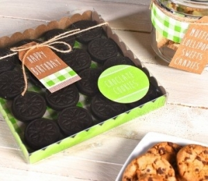Boîte à Biscuits Carrée