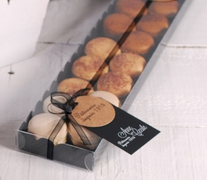 Boîte allongée pour macarons