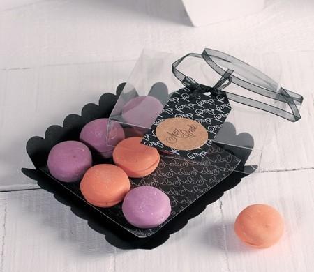 Boîte à Macarons Noire