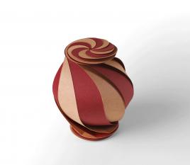 Boîte cadeau spirale