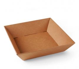 Panier carré en carton