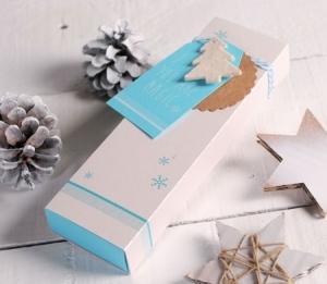 Boîte de Noël imprimée