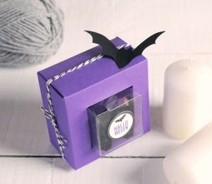 Boîte d'Halloween Transparente