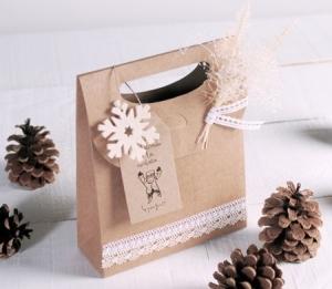 Boîte cadeau en forme de sac