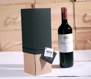 Originale boîte cadeau pour bouteilles
