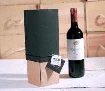 Boîte carton pour bouteille de vin