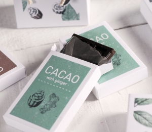 Boîte à chocolats imprimée