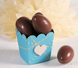 Petite boîte pour œufs en chocolat