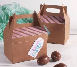 Boîte pique-nique décorée pour Pâques