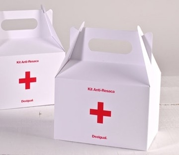 Boîte pique-nique imprimée pour Desigual