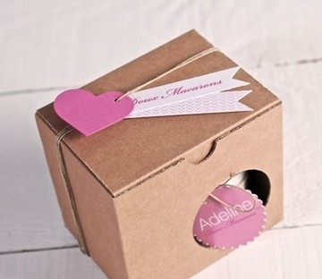 Boîte pour mug en carton