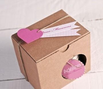 Boîte à tasses en carton