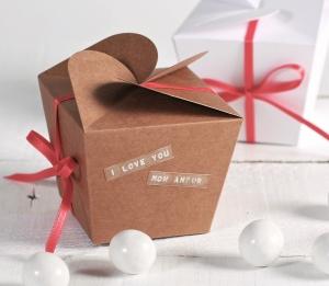Boîte cadeau originale pour la Saint-Valentin