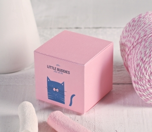 Petite boîte cadeau imprimée