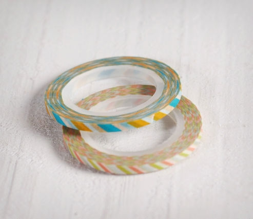 Washi tape Slim 3mm