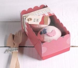 Petite boîte pour 2 cupcakes