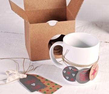 Boîte pour offrir des tasses